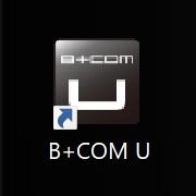 B+COM UでB+COM本体のバージョンアップをする