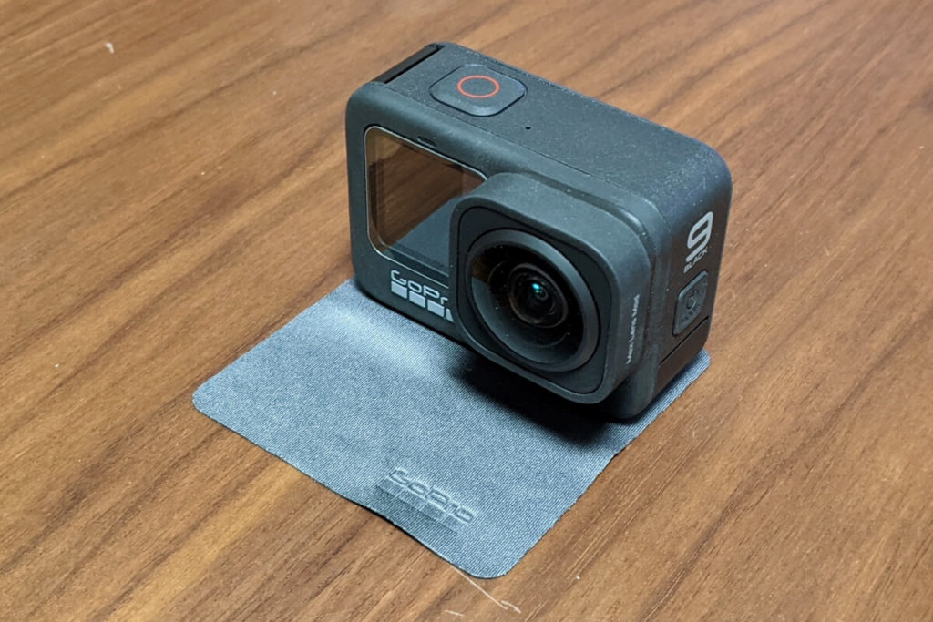 GoPro HERO9は更なる映像体験が可能(maxレンズモジューラー)